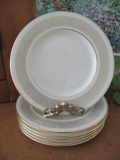 Lenox FLOURISH Bread & Butter Plates ~ Six ~ H521 ~ circa 1964-1974