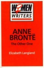 Anne Brontl: The Other One (Princess Grace Irish Library Series,)-ExLibrary