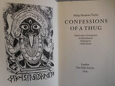 1974 CONFESSIONS OF A THUG - MEADOWS TAYLOR, FOLIO SOCIETY, ILLUSTRATED SLIPCASE