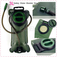 3L TPU Water Bladder Bag BackPack Hydration System Camelbak Pack Outdoor Camping