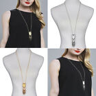 Tassel New Sweater Chain Pendant Gold Silver Plated Long Necklace