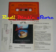 MC ANTONELLO VENDITTI Cuore 1984 1 STAMPA ITALIANA HEINZ MUSIC no*cd lp dvd vhs