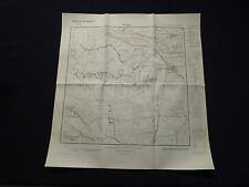 Landkarte Meßtischblatt 3137 Werben an der Elbe, Quitzöbel, Giesenslage, 1936