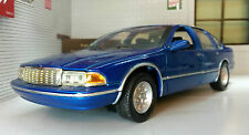 G LGB 1:24 Scale Diecast Very Detailed 1990 Chevrolet Chevy Caprice Motormax