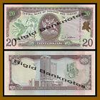 Trinidad and Tobago 20 Dollars, 2002, P-44b, Prefix-BR, Unc