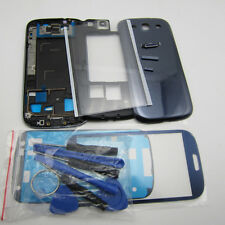 Replacement phone parts front outer glass case for galaxy siii s3 gt-i9300 cover