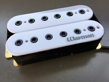 Warman Destroyer HOT 12 polos 16k Blanco puente Humbucker Pickup