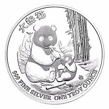 Pure solid silver 1 troy oz 999 - 2017 Niue Silver Panda proof like quality