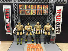 Lot of 4 WWE Mattel Basic CM Punk Action Figures