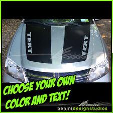 2008 2009 2010 2011 2012 2014 Dodge Avenger Hood Decal Graphics Stripes