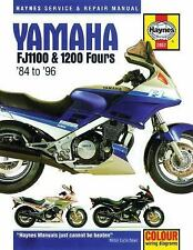Yamaha FJ1100 & 1200 Fours '84 to '96 (Haynes Service & Repair Manual), Editors