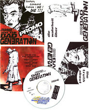 Sidekick Lupchen And The Bad Generation CD Faster Leonard Cohen Punk Promo