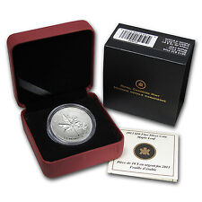2013 Canadian 1/2 oz Silver $10 Maple Leaf Forever Coin - Box and Certificate