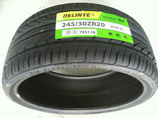 NEW (Pair) 245 30 20 DELINTE Thunder D7 series ultra high performance tires x2