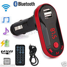 Bluetooth Wireless FM Transmitter MP3 Music Player Handsfree Car Kit USB Remote