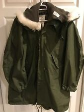 New Unissued U.S.A M65 Fishtail Parka w/ Hood & Trousers! Medium!