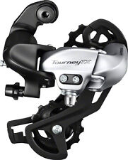 NEW Shimano Tourney TX800 7/8-Speed Long Cage Rear Derailleur Black