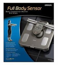 NEW Omron HBF-514C Full Body Composition Sensing Monitor with Fitness Scales