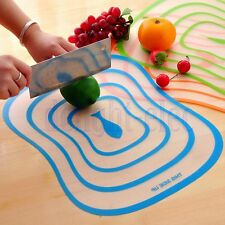 Ultra-thin Plastic Fruit Vegetable Cutting Chopping Board Antibacteria Mat  DB