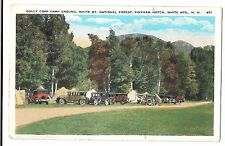 USA, New Hampshire; Dolly Copp Camp Ground, Pinkham Notch PPC 1933 Wolfeboro PMK