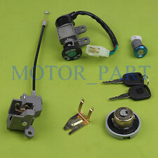 GY6 Ignition Key Switch Lock Set Fits Scooter Moped GY6 50cc, 139QMB, 1P39QMB
