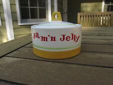 VINTAGE MOD Holt Howard jam'n jelly jar with lid 1960's