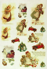 Ricepaper / Decoupage paper, Scrapbooking Sheet Christmas Toys