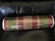 NEW! Traditional Thai/Siam Kapok Fiber Filled Cultural Bolster Pillow UniqueGift