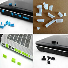 13X Protective Ports Cover Silicone Anti-Dust Plug Stopper for Laptop EFC