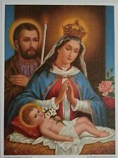 NATIVITY / HOLY  FAMILY             8  X  10 1/2    PICTURE       GERMANY