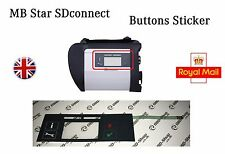 Mercedes MB Star C4 SD Connect SDconnect - Button Sticker