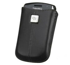 Genuine Blackberry Leather Pocket Pouch Case Cover For Curve 8520,9300 Bold 9780
