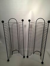 """Pair of matching CD towers-holds 24 ea. 20.5"""" high - great shape!!"""