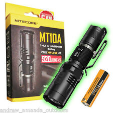 Nitecore MT10A Multitask Flashlight -920 lumens - Includes FREE AA Battery
