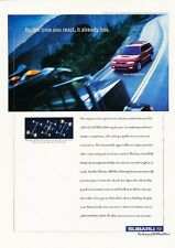 1999 Subaru Legacy Wagon Original Advertisement Print Art Car Ad J591