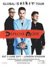 Depeche Mode - London Stadium 3rd June - Spirit Tour 2017 - A4 Photo Print
