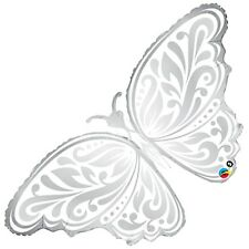 """44"""" Wedding Butterfly Super Shape Foil Balloon Qualatex Licensed Wedding Party"""