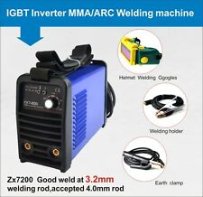 High quality 200A IGBT arc welder mma welding machine & helmet & 240Vin UK STOCK