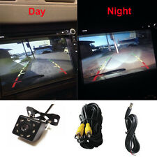 Universal Night Vision 8 LEDs HD 420TVL CCD Car Rearview Reverse Backup Camera