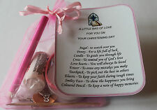 Little Bag Of Love - Personalised Gift - Christening, Baptism, First Communion
