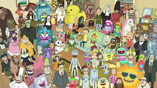 "050 Rick And Morty - Crazy Funny USA HOT Carton TV 43""x24"" Poster"