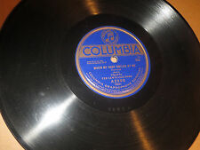 78RPM Columbia A2908 Ted Lewis (Theme Song) When My Baby Smiles / Rose Square  V