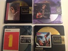 4 Recordable Mini Discs   74 Minute   Classic Rock