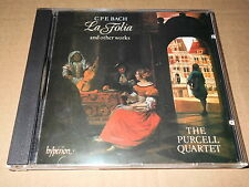 THE PURCELL QUARTET/CPE BACH/LA FOLIA & other works/CD HYPERION UK 1988