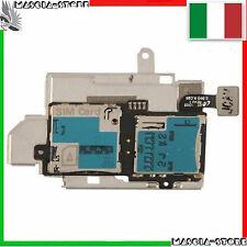SAMSUNG GALAXY S3 i9300 Lettore SCHEDA SIM + MICRO SD Card FLAT FLEX Memory