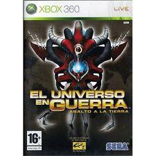 El universo en Guerra Asalto a la Tierra (Xbox 360 Nuevo)