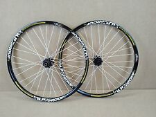 "Nukeproof Generator DH Downhill 26"" Wheels Wheelset - Black & White USED 069"