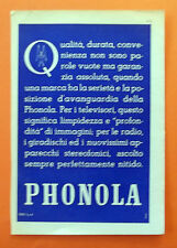 B866-Advertising Pubblicità-1959 - PHONOLA