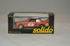 Solido 75 BMW 3000 CSL 1/43 mint in box superb