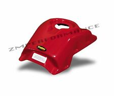NEW HONDA TRX250R RED PLASTIC GAS TANK COVER TRX 250R PLASTICS